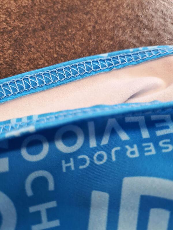 fasce stirnband tecnica traspirante con stampa in sublimazione